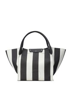 Ladies Big Bag With Large Stripes