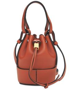 Paula's Ibiza Balloon Leather Bucket Bag