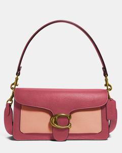 Women's Colorblock Tabby Shoulder Bag 26 - Rouge Multi