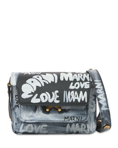Mini Trunk Upcycling Graffiti Bag