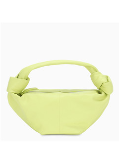 Yellow knotted mini bag