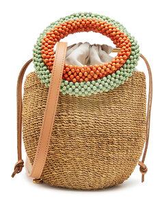 Trifolio spring lilac shoulder bag