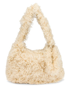 Montone Shoulder Bag in Cream