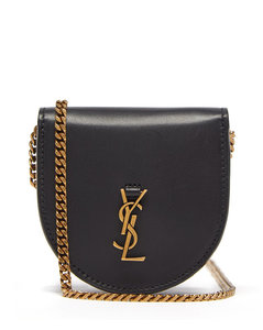 Le K YSL-plaque leather coin purse