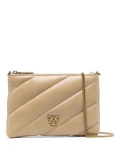 Pre-loved Dior Oblique canvas shoulder bag