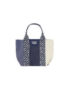 Perforated nylon handbag