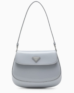 Light blue Cleo small bag with flap