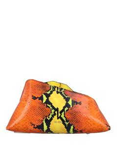 Fluffy faux-fur shoulder bag