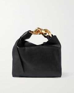 Chain Small Leather Tote