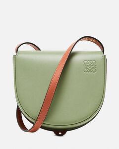 Heel Duo bag in soft natural calfskin