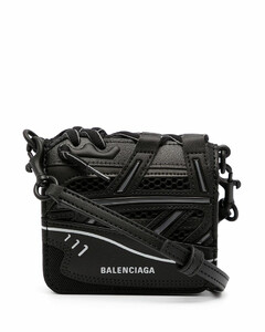 Sneakerhead leather crossobody bag