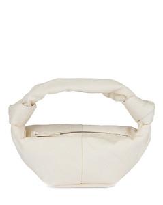 Mini Nylon Double Knot Bag in Ivory