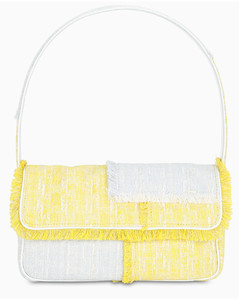 Yellow/white Tommy bag
