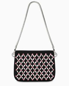 Crystals-embellished Sassy handbag