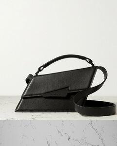 Mini Asymmetric Leather Tote
