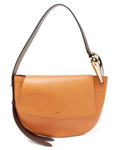 Kiss leather shoulder bag