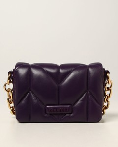 bag in quilted nappa leather