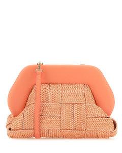 Brown Glam Leather Shoulder Bag