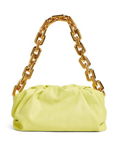 The Leather Chain Pouch Bag
