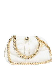 Mania small chain-embellished cross-body bag