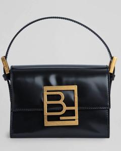 Women's Fran Semi Patent Bag - Black