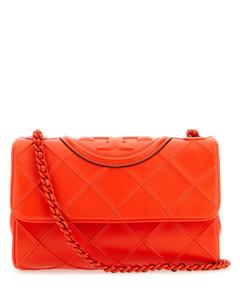 Medium Leather Olympia Shoulder Bag