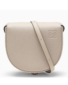 Beige Heel small cross-body bag