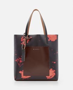 Tote bag with abstract print