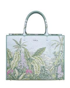 Brown/gold Falabella Mini Tote bag