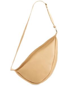 Large Slouchy Banana Grain Leather Bag