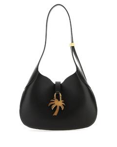 Women's Arc Clutch On Strap Bag - Blue