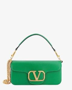 Faux leather shoulder bag with bandana print