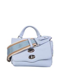 Mini Drapébag in black satin