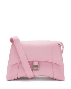Hourglass S leather cross-body bag