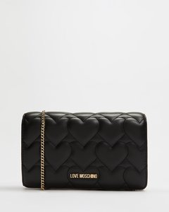 New Shiny Quilted Clutch