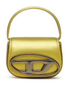 Medium Shoulder Bag in Black Leather