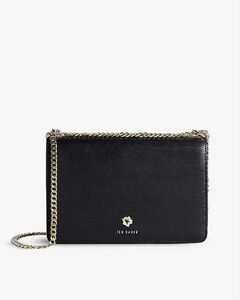 Women's Smile Small Shoulder Bag - Black