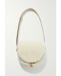 Woman Pebbled-leather Bucket Bag