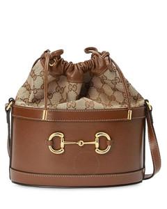 Ladies 1955 Horsebit Bucket Bag