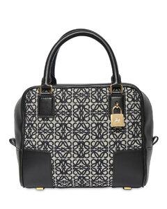 Amazona 19 Logo Jacquard Top Handle Bag