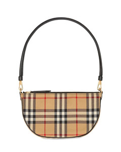 Olympia Vintage Check Pouch