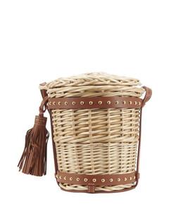 Basket Mini Bucket Bag