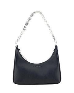 Luna Pillow Shoulder Bag_Black