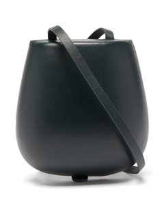 Tacco small moulded leather cross-body bag