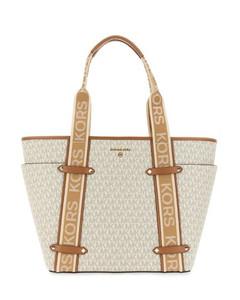 Nightlily crystal-buckle satin shoulder bag