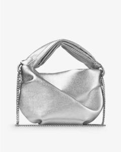 Black/gold Falabella Fold Over bag