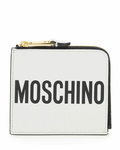 Trunk croc-embossed leather clutch bag
