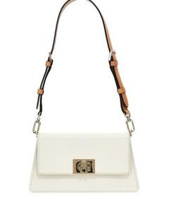 Women's The J Link Twist Mini Shoulder Bag - Black/White