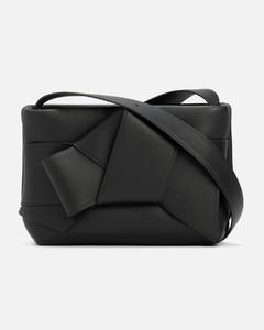 Small Quilted Shoulder Bag- Black