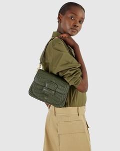 Pre-loved Dior leather shoulder bag